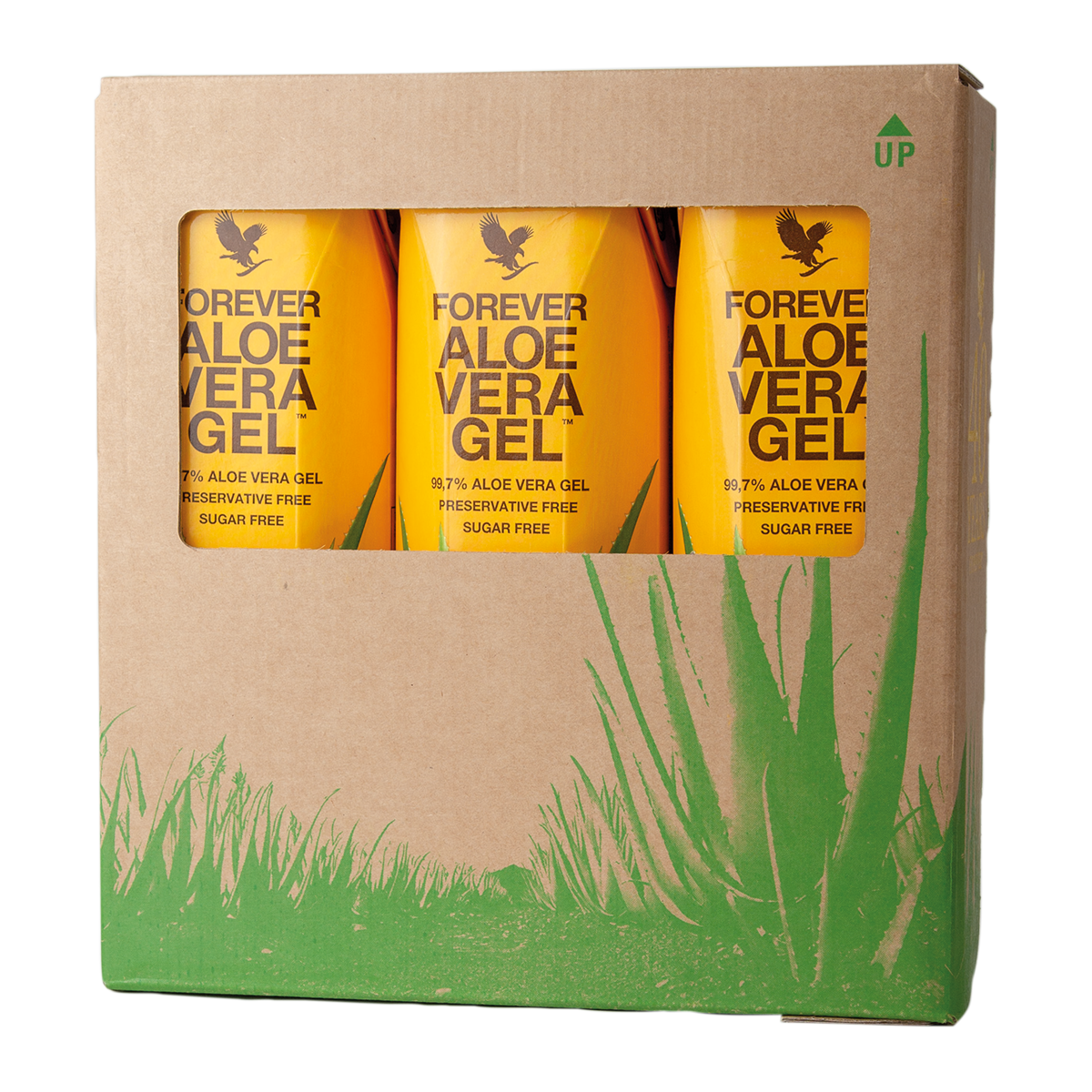 Forever Living's best-selling Aloe vera drink contains up to 99.7% pure Aloe vera gel from hand-picked Aloe vera of the highest quality.